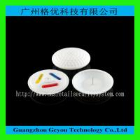 Wholesale EAS RF Circle Ink Security Tag , 58KHz Clothing Security Hard Tags from china suppliers