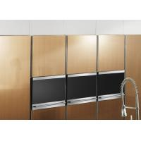 Quality Free Standing Brown Painting Modern Kitchen Cabinets , Island Kitchen Cabinet for sale