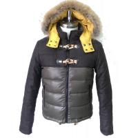 Wholesale Breathable Mens Coats Jackets , Hooded Padded Jacket For Adult from china suppliers