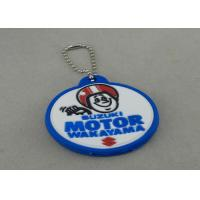 Wholesale Promotional PVC Keychain , Colorful PVC Badge For Bag Zipper from china suppliers