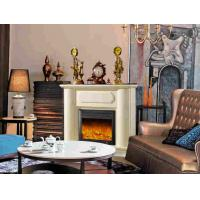Wholesale LED Decorative Flame House Imitation Marble Fireplace European Style from china suppliers