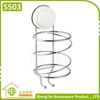 Wholesale Modern Free Installed Wall Mounted Plastic Hair Dryer Holder from china suppliers