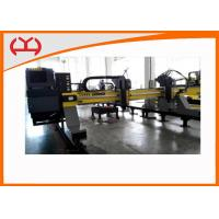 Wholesale High Precision Gantry CNC Cutting Machine With HPR Plasma / EDGE Controller from china suppliers