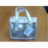 Wholesale Eco-friendly Leather Makeup Bags / Personalized Shiny PVC For Women from china suppliers