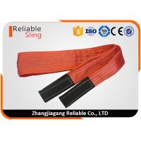 Quality 5 Ton Load Capacity Polyester Flat Webbing Sling Soft Duplex Webbing Sling for sale