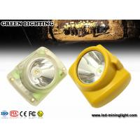 Wholesale IP65 Lightweight Led Mining Light / 6000 Lux Hard Hat Headlamp PC Meterial from china suppliers