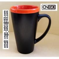 Wholesale fashion big Chalk Mug free your hand wholesale16oz Ceramic Chalk Mugs cups from china suppliers