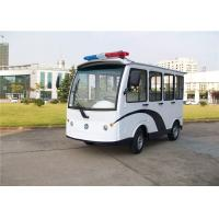 Buy cheap Security Police Electric Patrol Vehicle With Closed Door For 8 Person from wholesalers