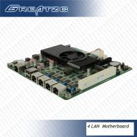 Wholesale Micro ATX Motherboard In Mini ITX Case 2V Power Intel Atom D2550 Motherboard from china suppliers