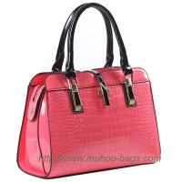Wholesale Fashion Pink Snake PU Leather Women bag for outdoor (MH-6040) from china suppliers