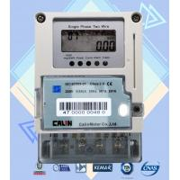 Wholesale Card Prepayment Single Phase Electric Meter , Surge Protection Wireless Power Meter from china suppliers