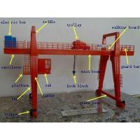 Buy cheap Heavy Duty Lifting Equipment MG Shipbuilding Gantry Crane 40m Lifting Height from wholesalers