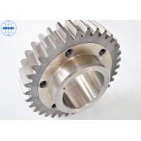 Wholesale 0.3 - 6 Module Cylindrical Precision Spur Gear Steel Ansi / Spur Wheel from china suppliers