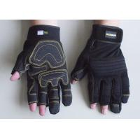 Wholesale Ladies or womens Anti vibration Synthetic Leather Palm Household Mechanic Work Gloves from china suppliers