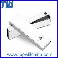 Wholesale Hotsale Slim Mini Metal Clip Usb Flash Drive Delicate Design for Gifts from china suppliers