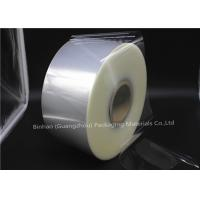 Wholesale Double Side Bi Oriented Polypropylene Packaging Film Heat Sealable Clear Color from china suppliers