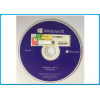 Buy cheap Genuine Microsoft Windows 10 Pro Software OEM  Box 64 Bit DVD / COA License Key from wholesalers