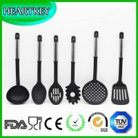 Buy cheap BPA Free Silicone Spatula set, Heat Resistant Silicone kitchen utensils set from wholesalers