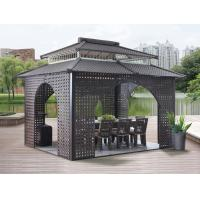 Buy cheap China garden house outdoor pavilion with sofa garden rattan tents 1114 from wholesalers