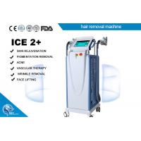 Wholesale Fast Pemanent E - Light Ipl + Rf Laser Hair Removal Machine Multifunction Cooling System from china suppliers