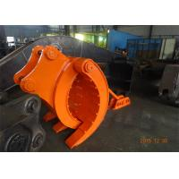 Wholesale Mechanical Type Heavy Duty Rock Grapples For Excavators Hitachi ZX330 from china suppliers