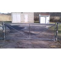 Buy cheap Greening / Residence Safeguard Boundary Wall chain link fencing For Leisure Sports Field / from wholesalers