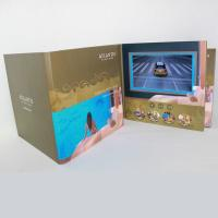 Wholesale 3D Audio LCD Touch Screen Video In Print Brochure HD Greeting Card For Business from china suppliers