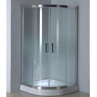 Wholesale Sector cheap shower enclosures and trays polished aluminum alloy #6463 frame from china suppliers
