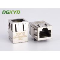 Wholesale Through hole RJ45 Female Jack  , 8 Pin cat5 rj45 connector with magnetics from china suppliers