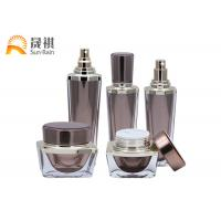 Wholesale Acrylic Cosmetic Packaging Set Luxury Lotion Bottle Empty Container SR2255 from china suppliers