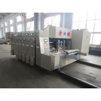 Quality 4 Color Flexo Printer Corrugated Carton Machinery Electrically For Carton Box Making for sale