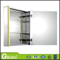 Wholesale factory  wholesale price high quality wall mounted aluminum bathroom mirror cabinet  with LED light from china suppliers