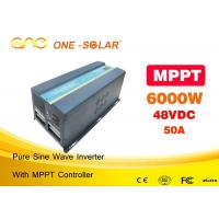 Wholesale Pv Powered Inverter 6000w Solar Power Automatic Inverter Charger from china suppliers