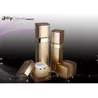 Wholesale Rimmed Gold PMMA 120ml Empty Makeup Containers For Classifying Cream from china suppliers