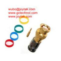 Wholesale BNC Coaxial Connector Compression Type 50ohm RG6 RG59 Coax Cable Gold Plated / BNC.MC50.02 from china suppliers