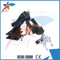 Wholesale 6DOF Clamp Claw Mount Diy Robot Kit Set Aluminium Rotating Mechanical Robotic Arm from china suppliers