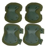 Quality Tactical Combat Molle Gear Accessories Knee Protection Pads , High Safe Knee Pad for sale