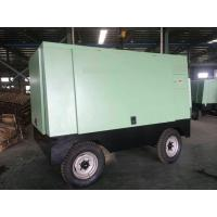 Wholesale Low Noise 194KW  Portable Diesel Engine Powered Screw Air Compressor Air Cooling Mode from china suppliers