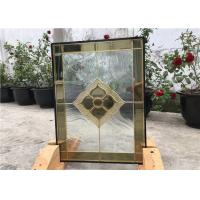 Wholesale Clear Decorative Glass Panels For Building , Decorative Glass Windows from china suppliers