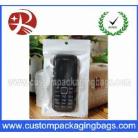 Wholesale OPP / CPP Ziplock Plastic Hanger Bags Packaging Eco-Friendly from china suppliers