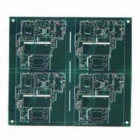 Buy cheap Double-sided PCB with Lead-freen HASL from wholesalers