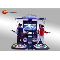 Wholesale 3 ㎡ Virtual Reality Simulator , Rhythmic Heroes Two - Man War VR Music Arcade Dancing Game Machine from china suppliers