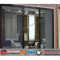 Wholesale PVC coated stainless steel security screen window, 304 security window screen from china suppliers