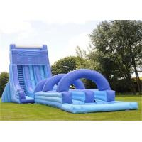 Wholesale Giant Inflatable Water Slide , Adult Size Inflatable Water Slide from china suppliers