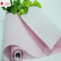 Wholesale Jewelry / Gift Box Flocked Fabric , Upholstery Pink Velvet Fabric 140cm - 150cm from china suppliers
