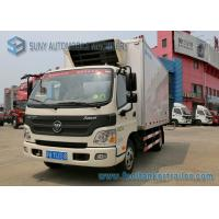 Wholesale Foton 6 Wheelers Refrigerated Trailer Aumark 3 Ton Freezer Truck from china suppliers