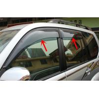 Wholesale Injection Moulding Car Window Visors For Prado 2010 FJ150 Sun Rain Guard from china suppliers