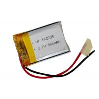 Wholesale Rapid Charge 102535 3.7V Lipo Battery Pack 800mAh Maintenance Free For GPS from china suppliers