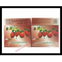 Wholesale Strawberry slim fruit tea herbal weight loss slimming tea from china suppliers