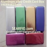 Wholesale Aluminum alloy credit card box, Stainless steel card box, European & American styles from china suppliers